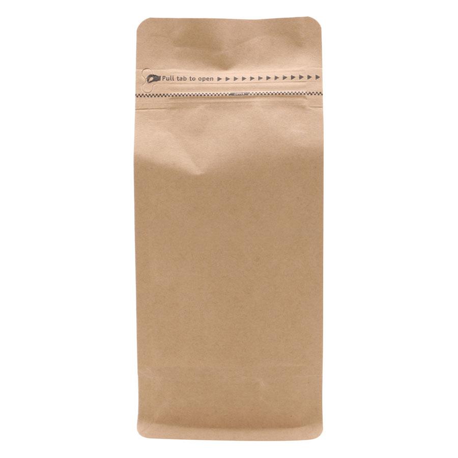 Túi Zip Giấy Kraft Đáy Bằng Pocket (13 x 26 x 8.5 cm)