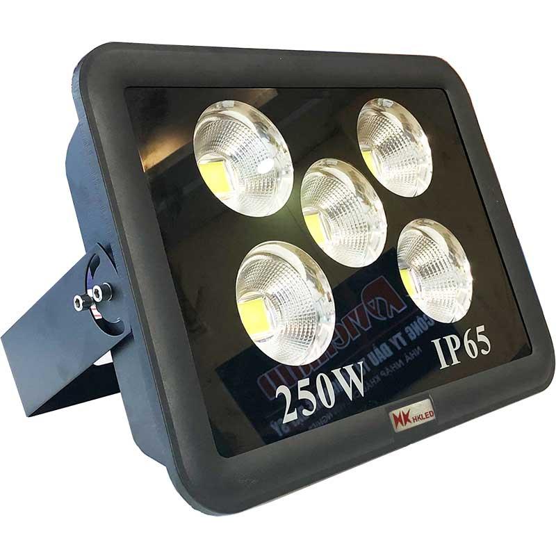 Đèn pha LED sân bóng ngoài trời HKLED tròn 250W - IP65