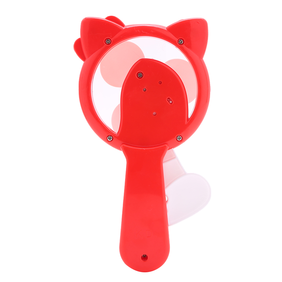 Quạt Cơ Cầm Tay Mini Hình Angry Hello Kitty