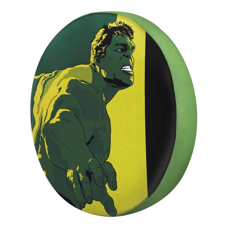 Gối Ôm Tròn Hulk Xanh Vàng - GOFF163