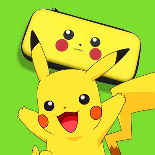 túi đựng máy switch mẫu pikachu