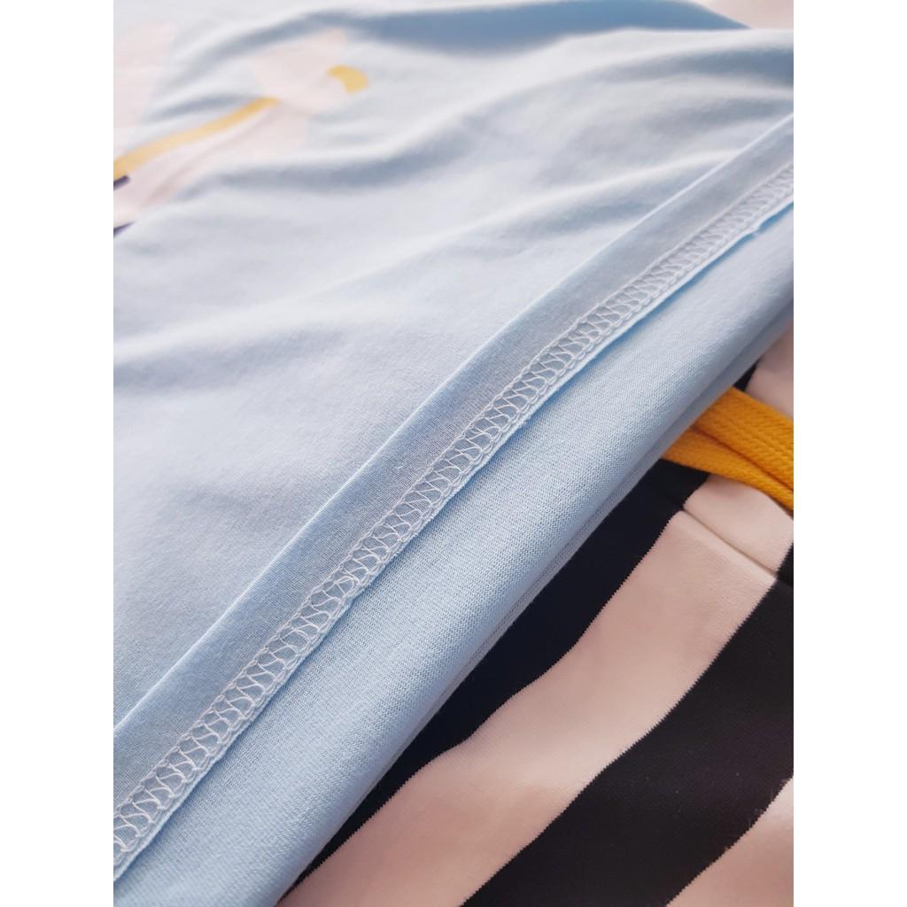 Bộ Quần Áo Thun Cho Bé 27Kids Bộ Quần Áo Trẻ Em Chất Vải Cotton Thoáng Mát Xuất Âu Mỹ 027.