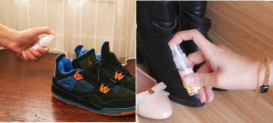 Set 03 Chai xịt khử mùi hôi giày kháng khuẩn Sanada Seiko 10ml - Nội địa Nhật Bản