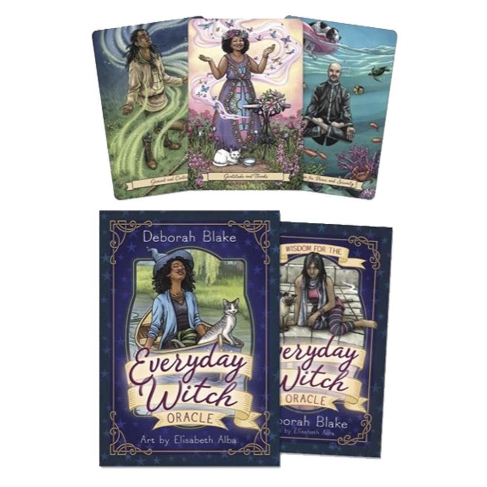 Bộ Bài Bói Tarot Everyday Witch Oracle Card Deck Cao Cấp Đẹp