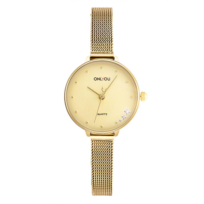 Đồng hồ Onlyou Nữ 85010LB Dây Lưới 22.6mm