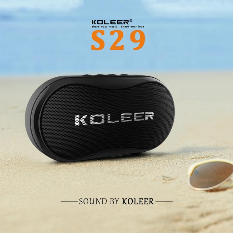 Loa bluetooth mini Koleer S29 cực hay, nghe USB, khe thẻ nhớ, đài radio FM, thoại rãnh tay (màu ngẫu nhiên) HÀNG CHÍNH HÃNG
