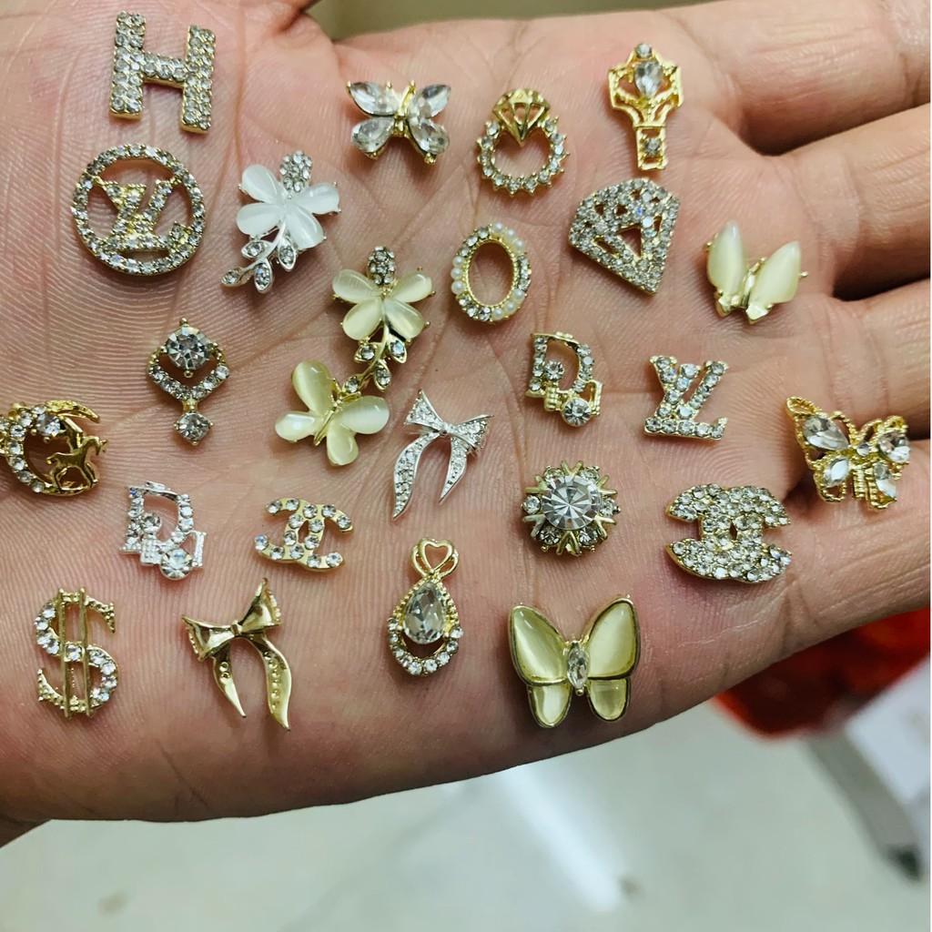 Charm nail cao cấp , charm trang trí móng cao cấp 16-26
