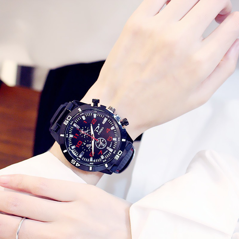 Đồng hồ thể thao nam nữ dây silicon mặt lớn siêu đẹp DH82