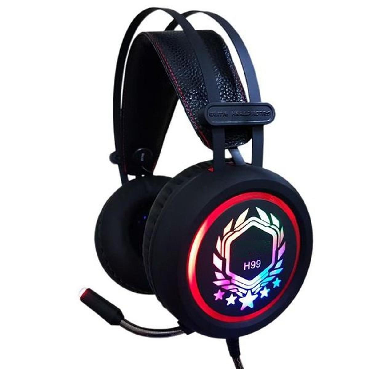 Tai nghe chụp tai Game thủ H99 Jack cắm 7.1