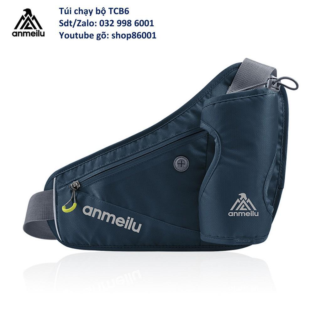 Túi đeo hông đựng bình nước chạy bộ có phản quang chính hãng Anmeilu capdakhoaso1