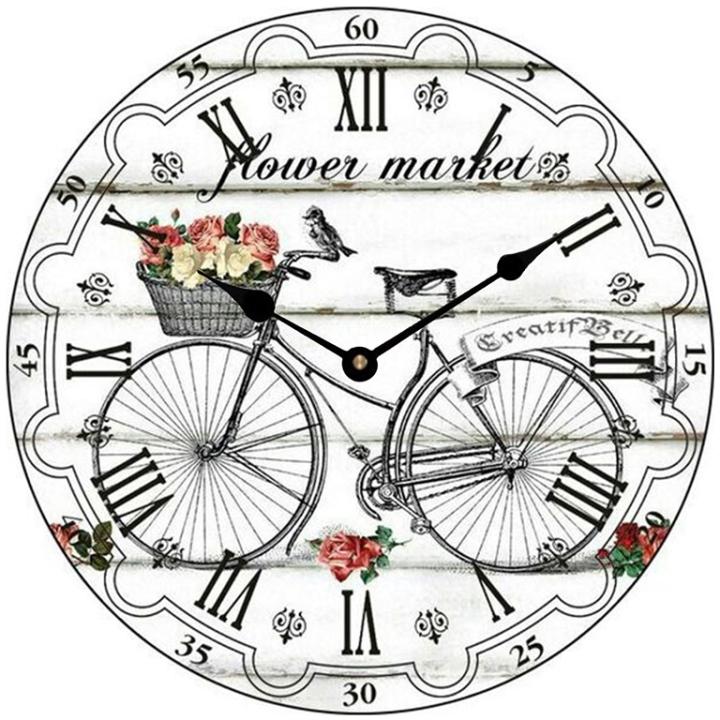 Đồng hồ treo tường phong cách cổ MS 59