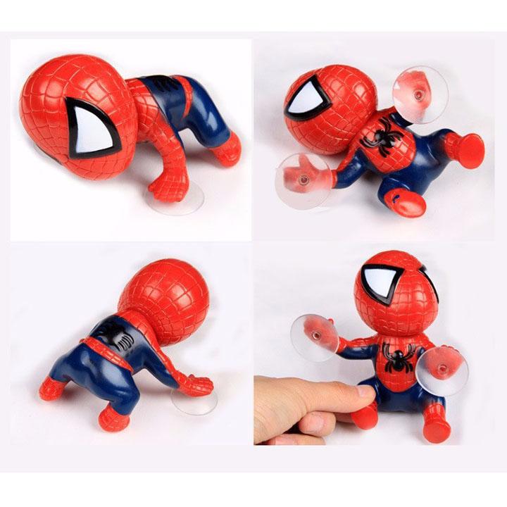Người nhện bám đuôi xe máy cực chất - TB367
