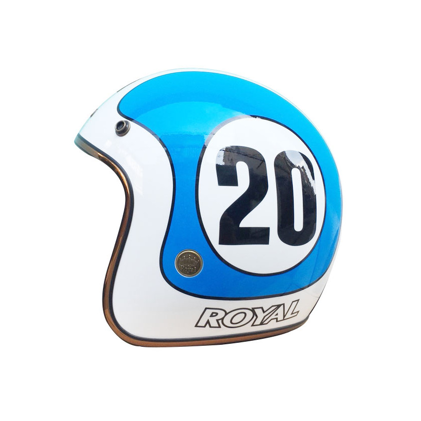Nón Bảo Hiểm Royal M20c Tem 20