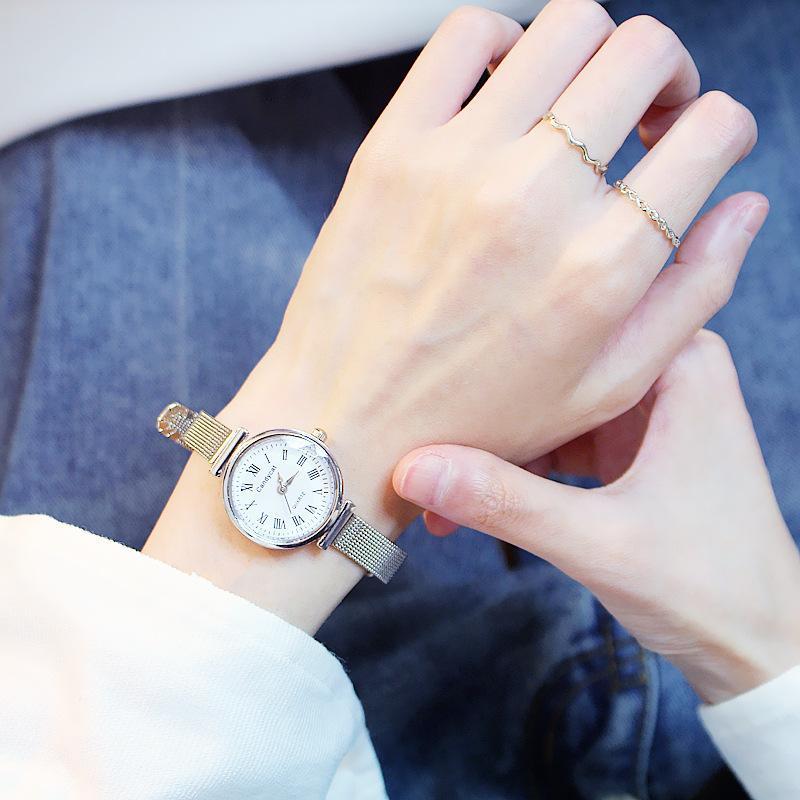 Đồng hồ nữ dây da thời candycat thanh lịch ZO41