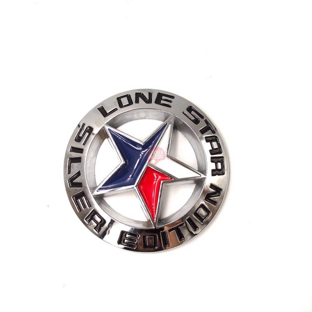 Lone Star Silver Edition - Sticker hình dán metal kim loại 3D