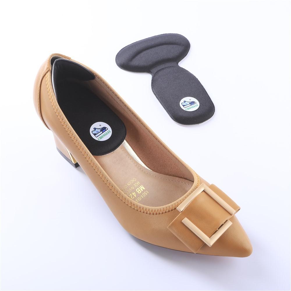 Cặp lót giày cao gót bằng mút chữ T GOT14 CHONGIAY êm chân và khử mùi