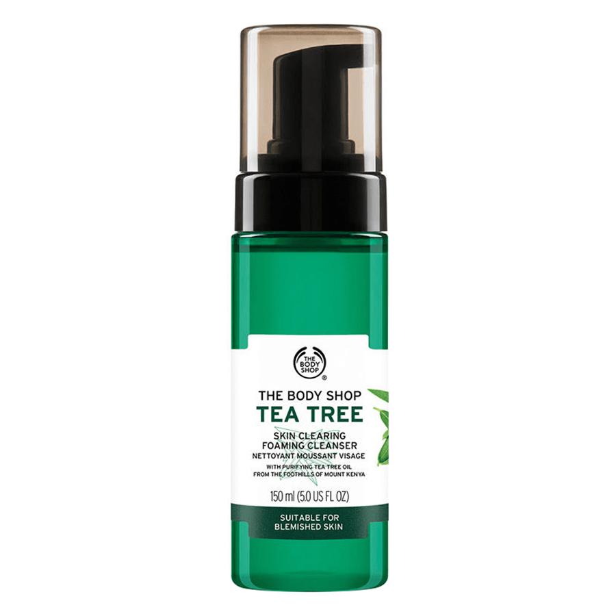 Sữa Rửa Mặt Tạo Bọt The Body Shop Tea Tree (150ml)