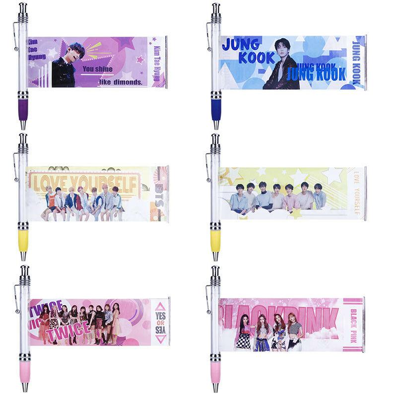 Combo 6 bút kéo thần tượng KPOP Twice Blackpink BTS và thành viên