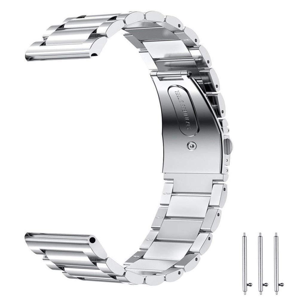 Dây Thép Bạc cho Galaxy Watch (Size 22mm)