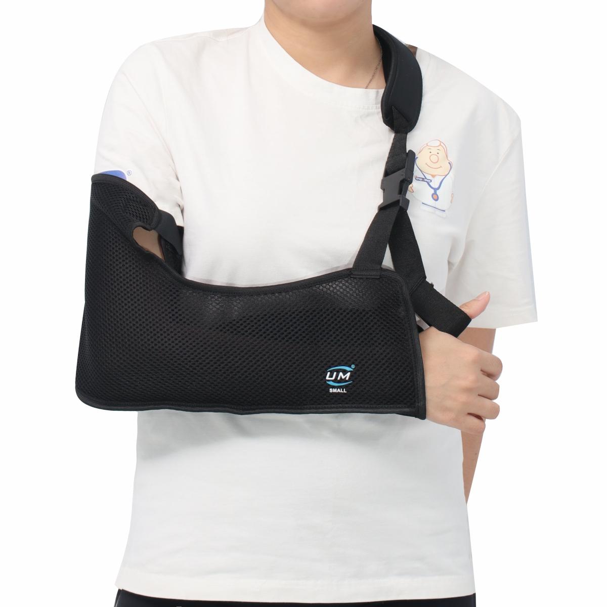 Đai treo tay dạng túi lưới đen United Medicare (C09)