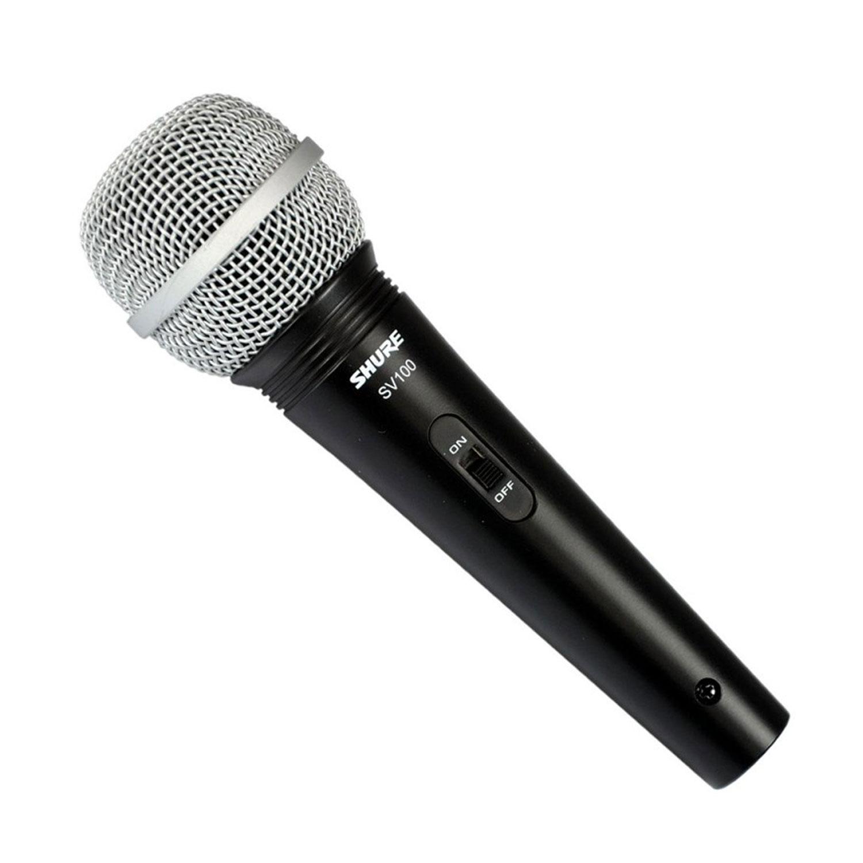 Mic Shure SV100 Có Dây Cầm Tay Hàng Chính Hãng USA Vocal Microphone Karaoke Micro SV100-X
