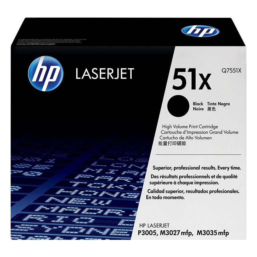 Mực In HP Q7551X (HP 51X) Cho Máy In HP M3035xs - Hàng Chính Hãng