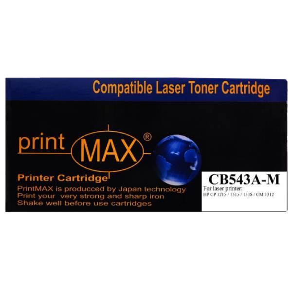 Hộp mực PrintMAX laser màu đỏ dành cho máy HP CB543A-M – Hàng Chính Hãng