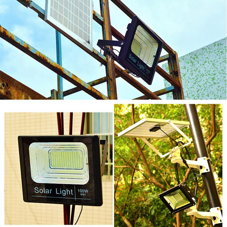 Đèn LED năng lượng mặt trời 100w
