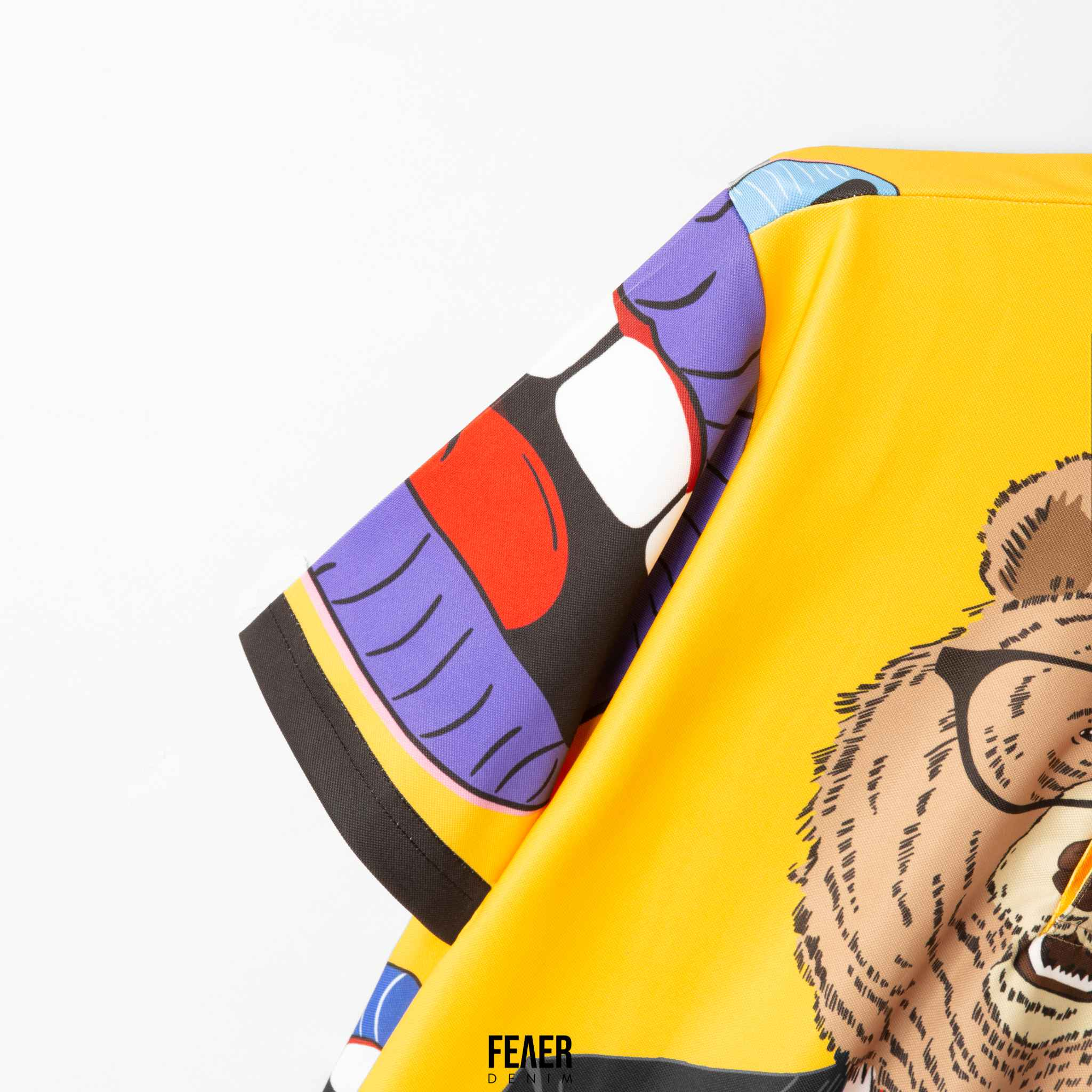 Áo thun nam Polo cổ bẻ họa tiết gấu GYPSY Bear chất Poly thoáng mát, co dản - FEAER DENIM