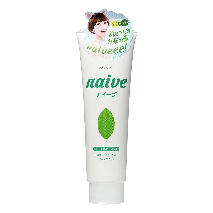 Sữa Rửa Mặt Trà Xanh Naive (130g)