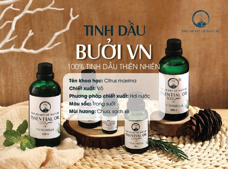 Tinh dầu cao cấp Bưởi Việt Nam PK 30ml