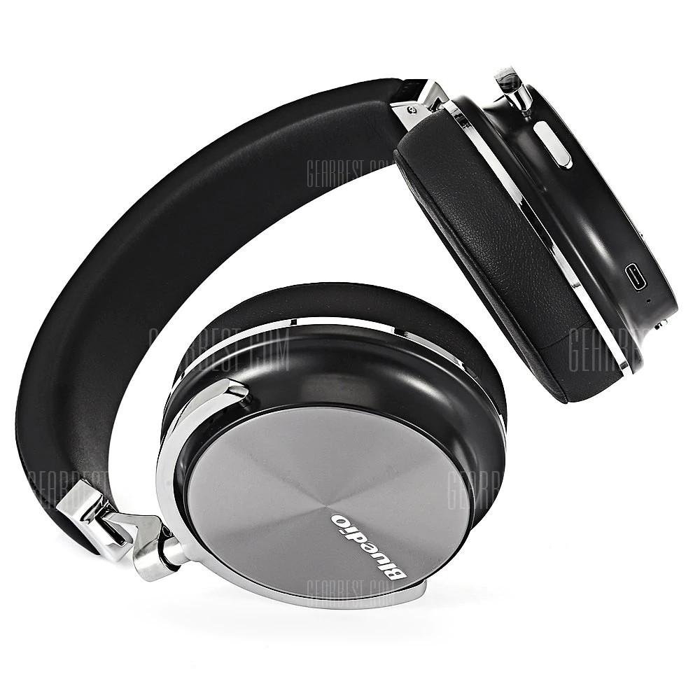 Tai Nghe Kiểm Âm Chống Ồn Bluetooth Hifi Bluedio T4S AZONE - Hàng Nhập Khẩu