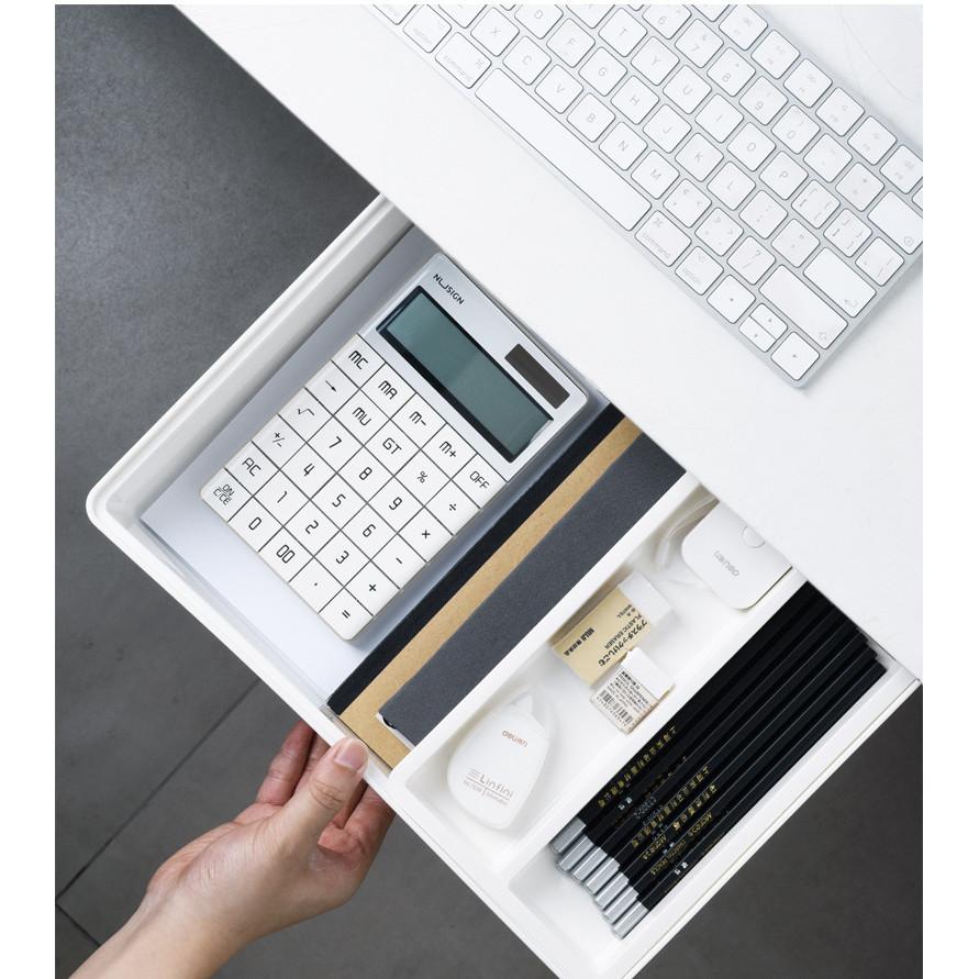 Ngăn kéo bàn, hộc bàn di động cất giữ, sắp xếp đồ gọn gàng,lưu trữ đồ tiện ích tặng kèm giá treo dán ổ cắm điện