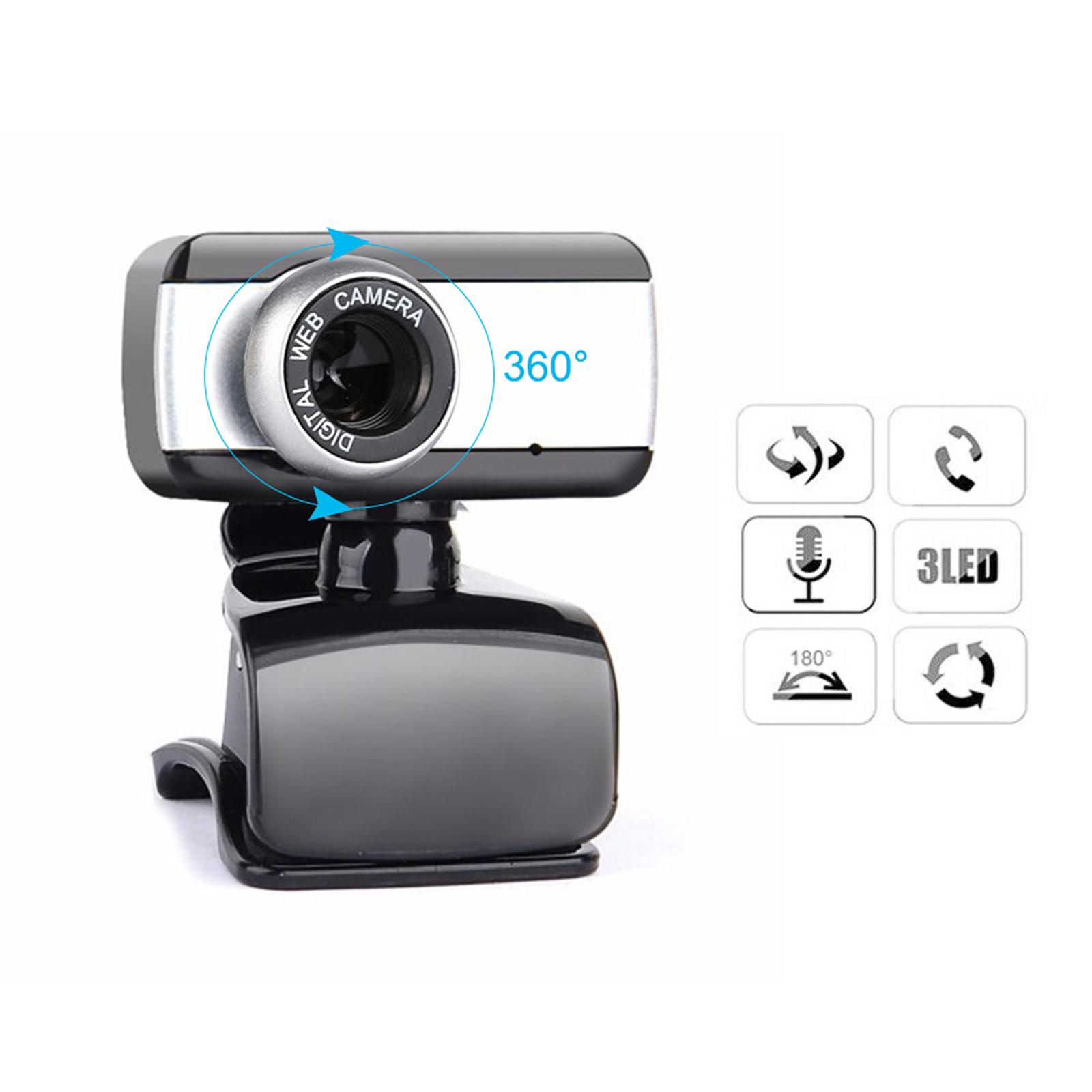 Webcam usb 2.0 có tích hợp mic chuyên học online