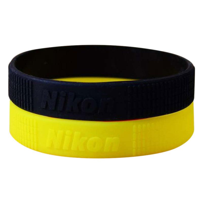 Bộ 2 Vòng Cao Su Bảo Vệ Và Trang Trí Ống Kính Nikon Size L - Hàng Nhập Khẩu