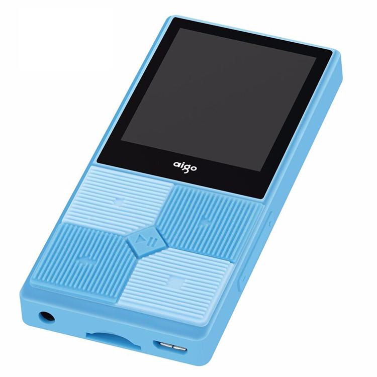 Máy nghe nhạc mini Aigo MP3-206 (Tặng kèm thẻ nhớ 8Gb)-Hàng chính hãng