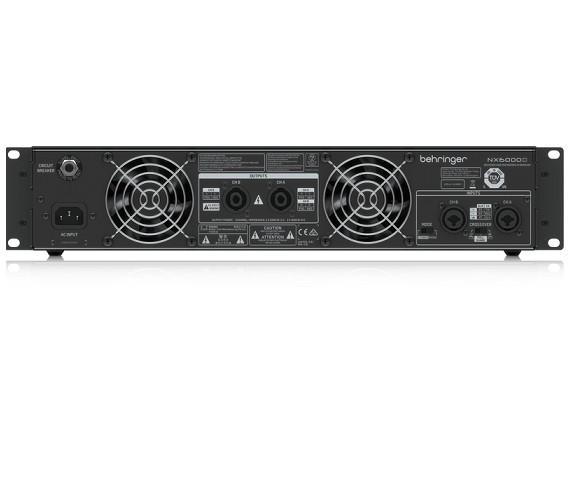Power Amplifiers Behringer NX6000- Hàng chính hãng