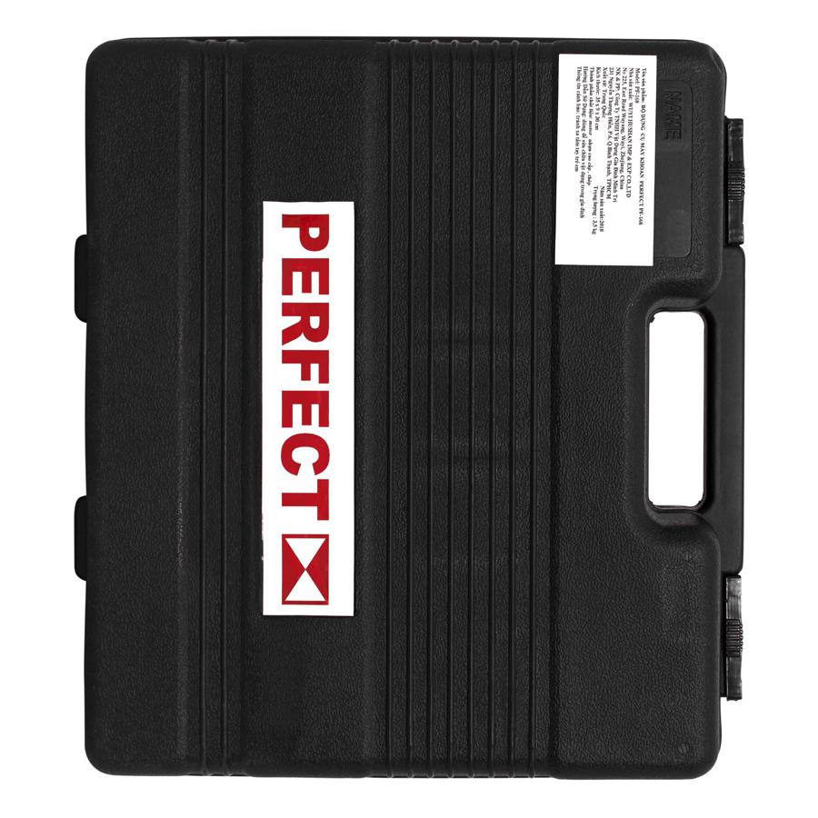 Bộ Dụng Cụ Máy Khoan Đa Năng Perfect PF-168 - Đỏ