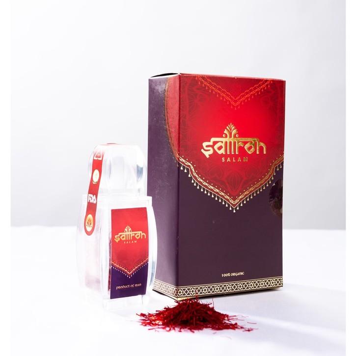 Combo 2gr Nhụy hoa nghệ tây Saffron Salam 1gr/ hộp