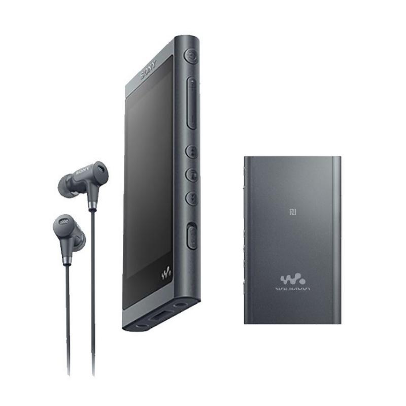 Máy nghe nhạc Hi-res Sony Walkman NW-A55 màu đen - Hàng Chính Hãng.