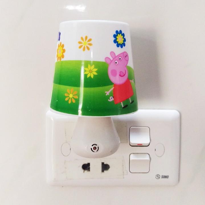 Đèn ngủ hình nấm có cảm biến tự động bật tắt - đèn ngủ