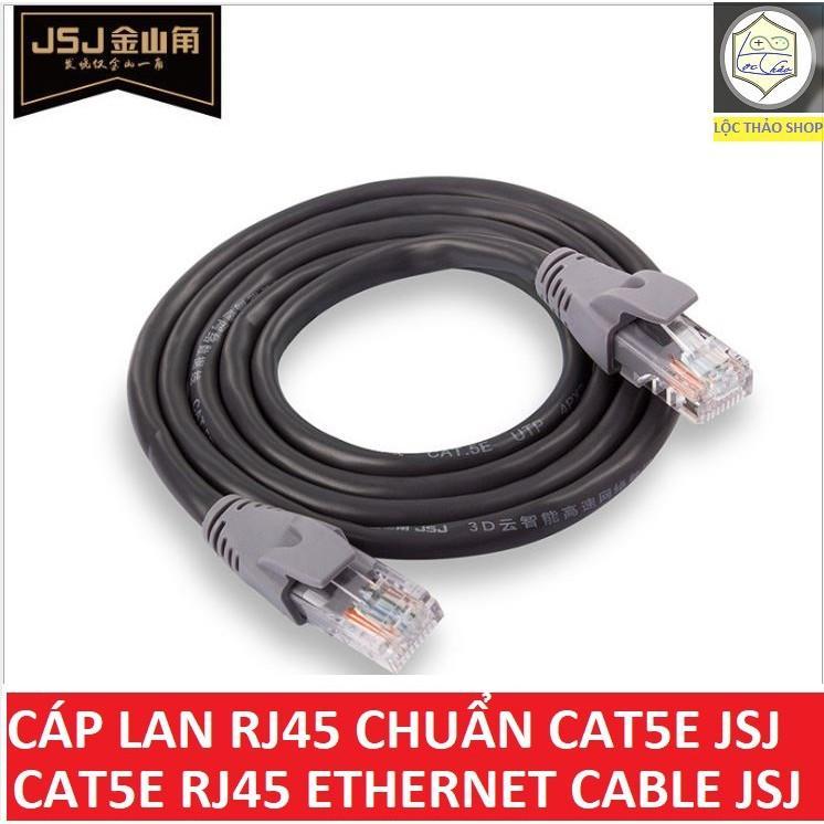 Cáp mạng LAN RJ45 chuẩn Cat5e JSJ cao cấp