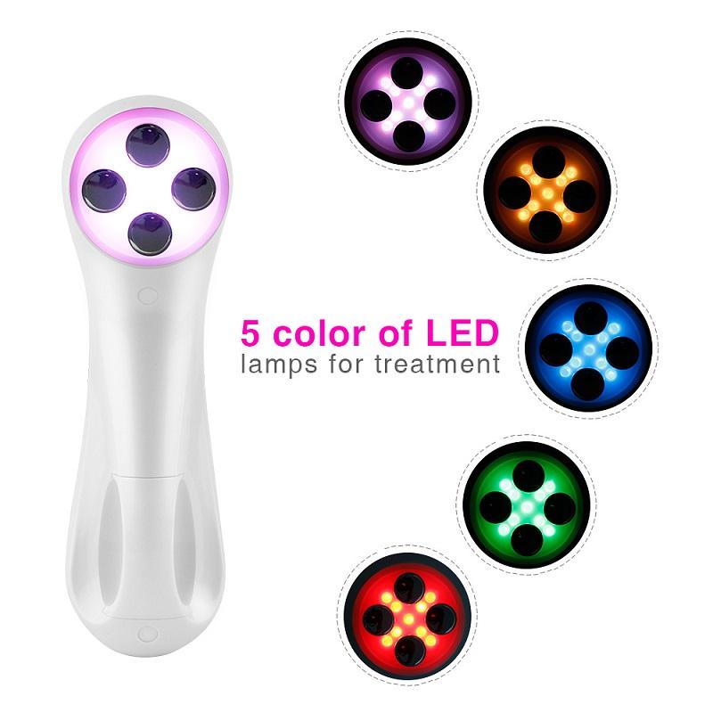 Máy năng cơ mặt  photon mini RF, máy di chất thẩm thấu dưỡng chất D3800 ( kèm bút massage mắt ) hàng nhập khẩu