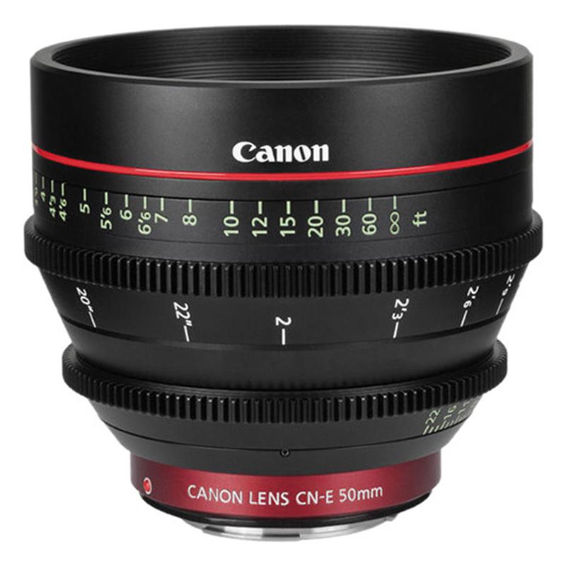 Ống Kính Canon CN-E50mm T1.3 L - Hàng Chính Hãng