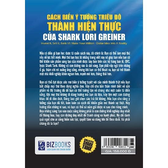 America Shark Tank: Cách Biến Ý Tưởng Triệu Đô Thành Hiện Thực Của Shark Lori Greiner (Tặng kèm Bookmark PL)