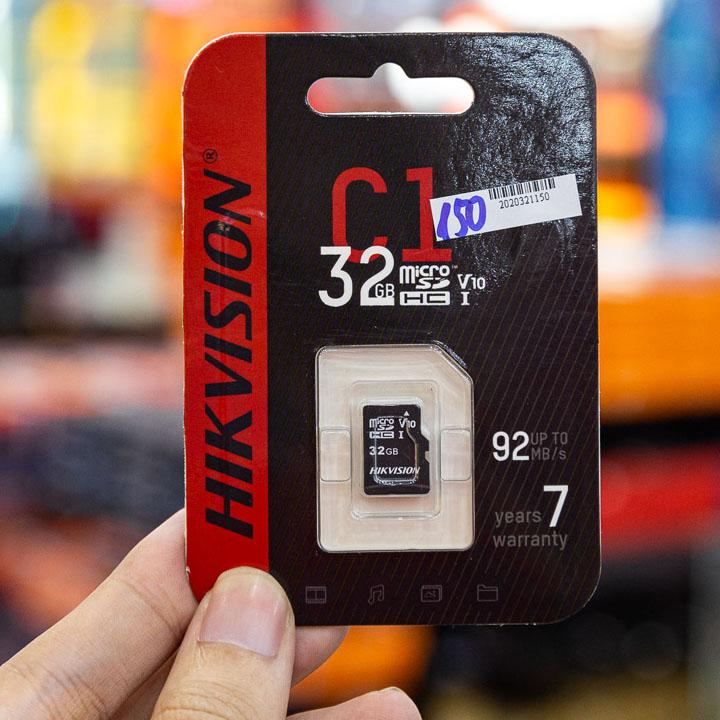 Thẻ nhớ 32Gb Hikvision HS-TF Class 10 dung lượng 32G  hàng chính hãng Nhà An Toàn