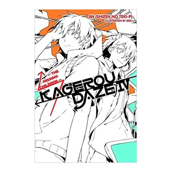 Kagerou Daze, Volume 04: The Missing Children (Light Novel)