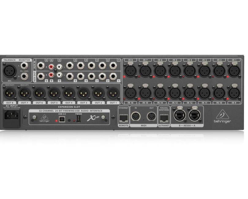Bộ trộn âm thanh 40 kênh BEHRINGER, model: X32 RACK- Hàng Nhập Khẩu