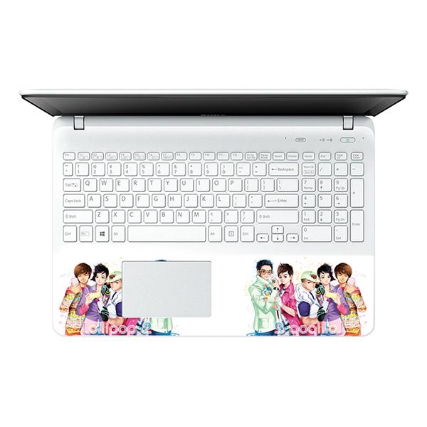 Mẫu Dán Decal Laptop Hoạt Hình Cực Đẹp LTHH-89