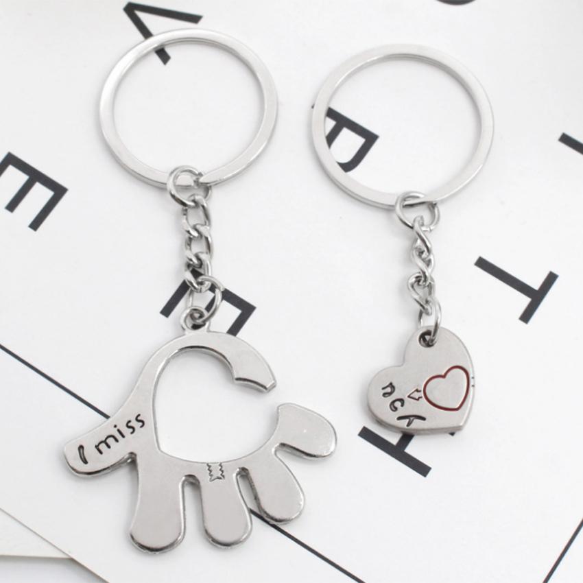 Móc Khóa Làm Quà Tặng Dễ Thương Love On Hand - New4all MK05
